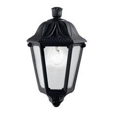 Ideal Lux Anna Flush/Wall Light, Black