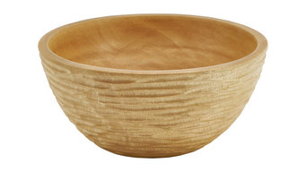 Carved Mango Wood Bowl, Small
