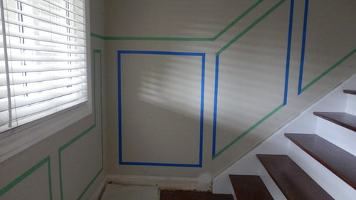 Wainscoting Paint Finish