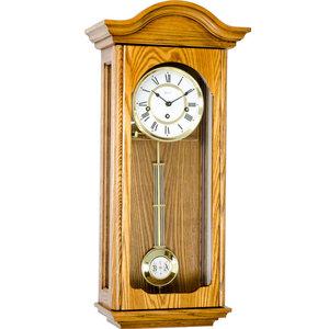 """Brooke"" Regulator Wall Clock, Oak"