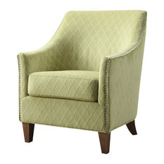 Kismet Accent Chair, Wembley Lime