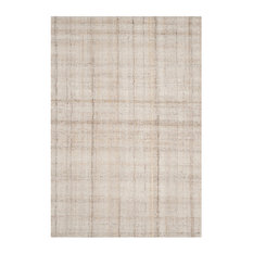 Safavieh Abstract Collection ABT141 Rug, Ivory/Beige, 6'x9'