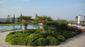 Realizzazione e progettazione giardino,  Rimini,