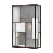 Outdoor Mondrian 2-Light, Buckeye Bronze