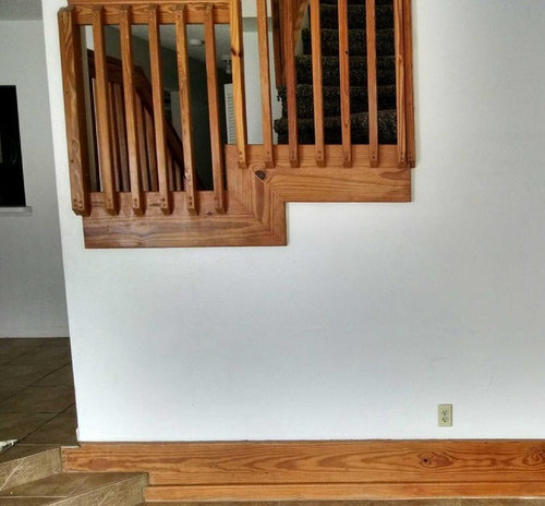 HELP: Stair Banister Color/rails/spindles