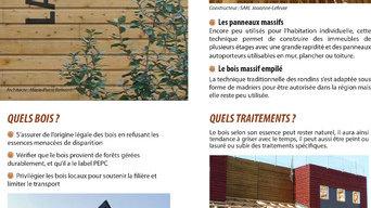 Nos fiches conseil / La construction Bois