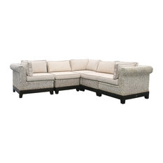 West Palm Sectional Sofa, 5-Piece