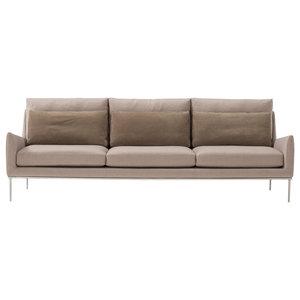 Alice Beige 3-Seater Sofa