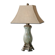 Uttermost Andelle Table Lamp, Light Blue