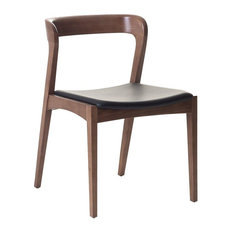 Astoria Wood and Leather Dining Chair