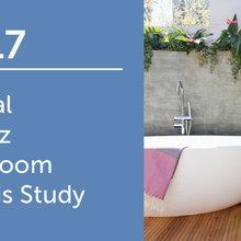 2017 Global Houzz Bathroom Trends Study