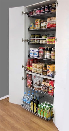 Nice Regardless of the size of your pantry or that it us existing here are our expert tips to maximise space u make everything accessible