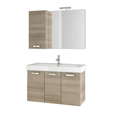 "37"" Larch Canapa Bathroom Vanity Set"