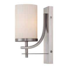 Savoy House Colton Wall Sconce, Satin Nickel