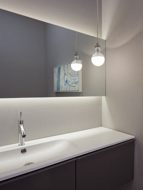 Bathroom Mirror Lighting  Houzz