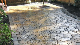 Los Angeles, CA: Stamped Concrete Contractor