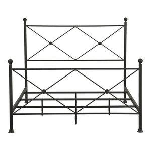 Gordon Metal Bed, Black, Queen