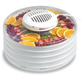 Nesco® Fd-37 Food Dehydrator With Clear Cover And 4 Speckled Trays, 400W
