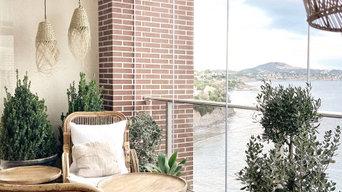 Este hogar es todo mediterráneo