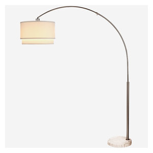Brightech Montage Modern Led Reading Floor Lamp Transitional Floor Lamps By Brightech