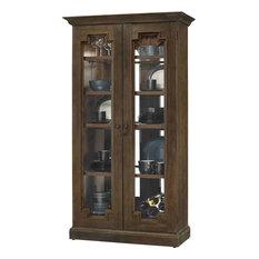 Howard Miller Chasman Display Cabinet, Brown