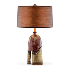 Shop southwestern table lamps best deals free shipping on ok lighting crystal stone table lamp table lamps aloadofball Images