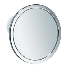 Suction Fog-Free Mirror, Round Shaped in Steel with Attractive Chrome Finish
