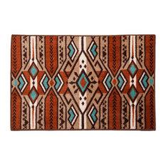 "Aztec Inspired Stripe Rug, 24""x36"""