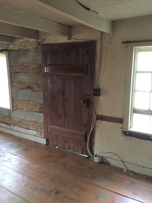 Refinishing old wood floors cracks