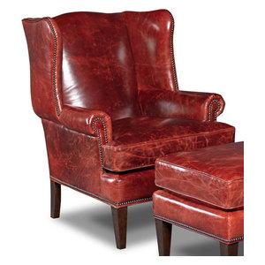 Cool Mckinley Leather Club Chair Transitional Bedroom Inzonedesignstudio Interior Chair Design Inzonedesignstudiocom
