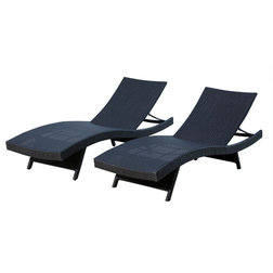 Tropical Outdoor Chaise Lounges by Abbyson Living