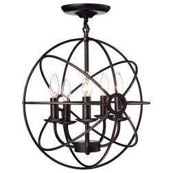 Transitional Flush-mount Ceiling Lighting by Edvivi Lighting
