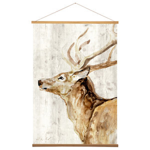 EMDE Stag Wall Hanging, 100x70 cm