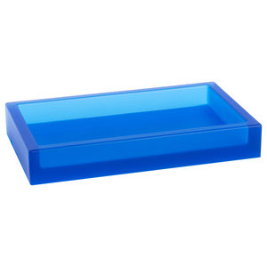 Ivasi Bathroom Tray, Blue