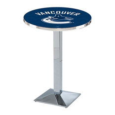 Vancouver Canucks Pub Table by Holland Bar Stool Company