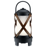 "Kichler Lighting Berryhill - 17.5"" 7W 1 LED Outdoor Bluetooth Portable Lantern"
