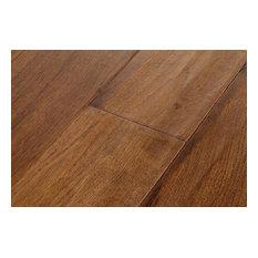 Eddie Bauer Wide Plank Hickory Random Length Flooring, Canoe Brown, 35 Sq. ft.