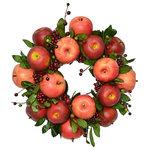 "Fantastic Craft - 19"" Apple Wreath - 19"" APPLE WREATH"