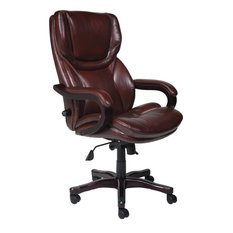50 most popular leather tufted office chair for 2018 houzz