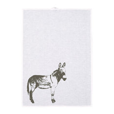 Donkey Tea Towel, Grey
