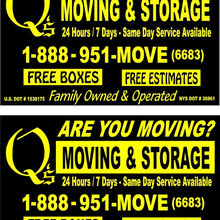 """Call Q's! """"Q stands for Quality!"""""""