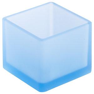 Soft Cube Bathroom Organiser, Light Blue