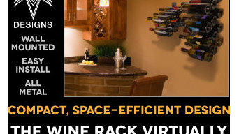 VMark Wall Mounted Wine Rack