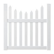 """Danbury Concave 4' Pre-Assembled Gate, 50"""""""