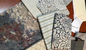 vignette of fabrics used in projects