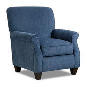 Enfield Arm Chair, Blue