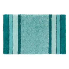 Merida Bath Mat, Blue, 90x55 Cm