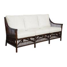 Panama Jack Bora Bora Sofa Cushions Palms Pineapple