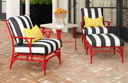Michael Taylor Outdoor Bamboo Chairs