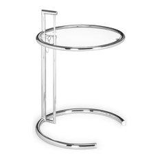 Eileen Gray Table, Chrome